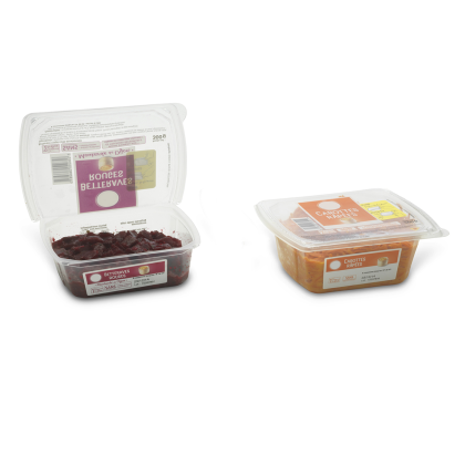 ANL Packaging for salads and spreads