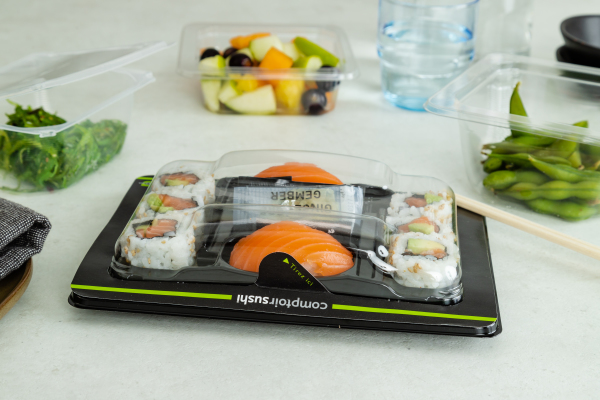 ANL Packaging MAP tray for sushi