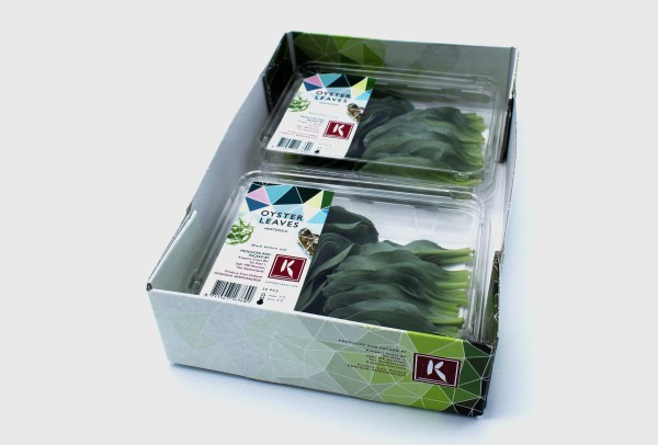 ANL Packaging trays for greens